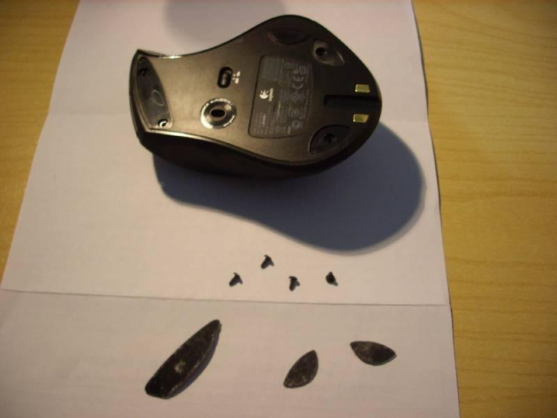 how to open logitech mouse